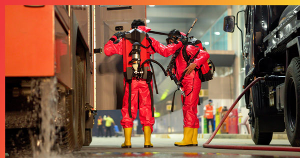 SCBA Personal Protective Equipment - Chemical Safety